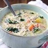 Roasted Garlic and Chicken Chowder