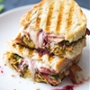Loaded Turkey Panini (For Thanksgiving Leftovers)