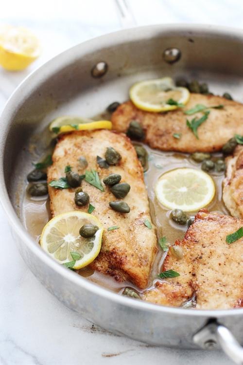 Five Ingredient Chicken Piccata