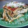 4 Cheese Spinach Mushroom Lasagna