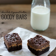 Chocolate Peanut Butter Goody Bars