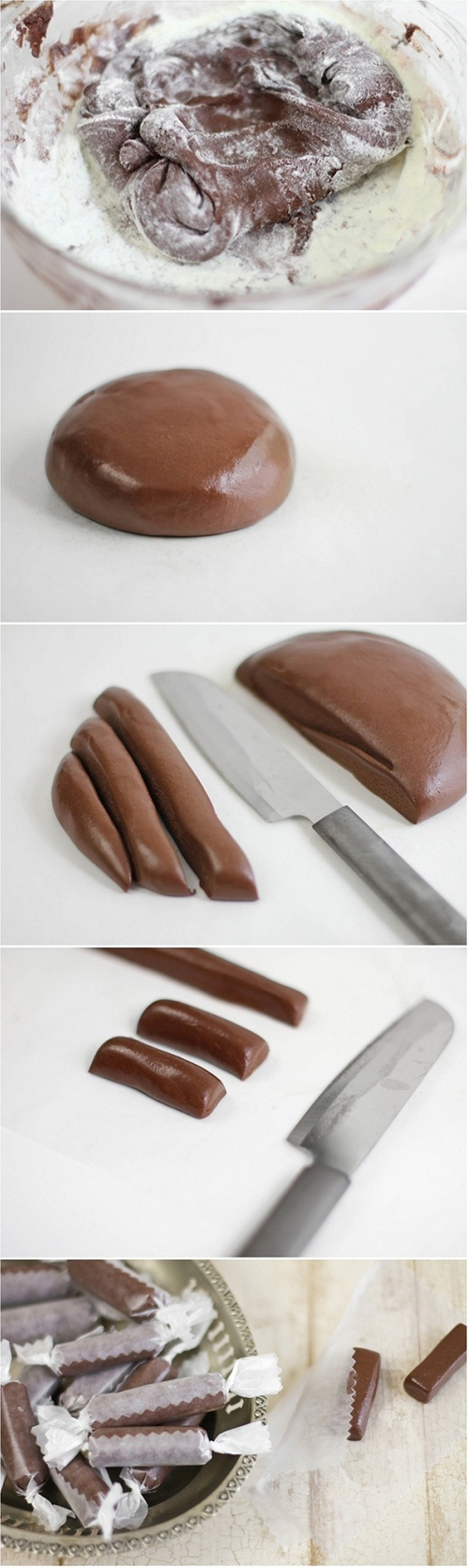 How to Make Homemade Tootsie Rolls