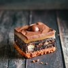 Salted Caramel No Bake Malteser Slice