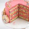 Funfetti Doughnut Cake
