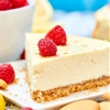 Light Greek Yogurt Cream Cheese Cheesecake