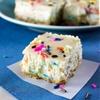 Funfetti Cheesecake Squares