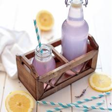 All Natural Lavender Lemonade