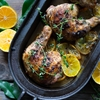Sumac Chicken with Meyer Lemons