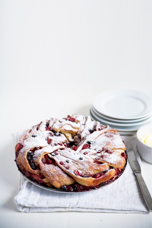 Tripple Berry Cinnamon Swirl Bread