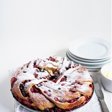Tripple Berry Cinnamon Swirl Bread