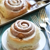Maple Glazed Cinnamon Rolls