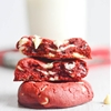 Soft Baked Red Velvet Cream Cheese Cookies