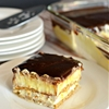 Easy Graham Cracker Eclair Cake