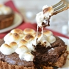 Gluten Free Chocolate Brownie Smores Tarts