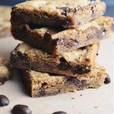 Browned Butter Espresso Blondies