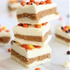 White Chocolate Peanut Butter Truffle Bars