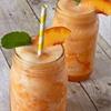 Peach Lemonade Slush