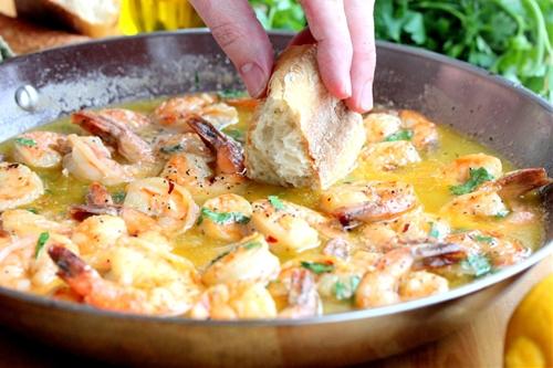 Succulent Shrimp Scampi