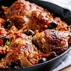 One Pot Italian Chicken and Rice