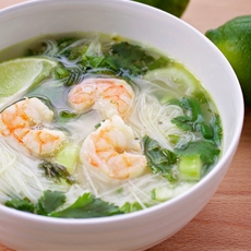 Thai Basil Noodle Soup