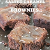 Flourless Salted Caramel Chocolate Brownies