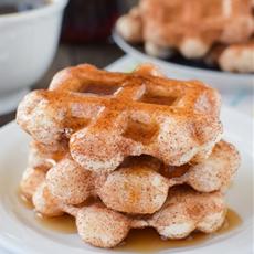 Easy Cinnamon Sugar Waffles