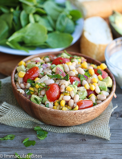 Avocado White Bean Tuna Salad