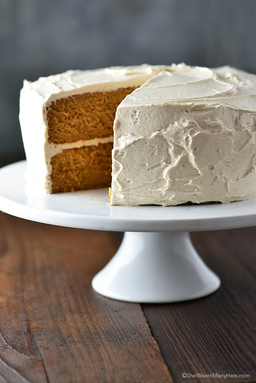 Cinnamon Honey Buttercream Frosting