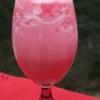Love Potion: pink lemonade, raspberry sherbet, Sprite