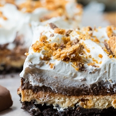 Butterfinger Chocolate and Peanut Butter Lush