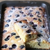 Blueberry Friand Blondies