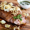 Grilled Cuban Steak with Chimichurri Sauce
