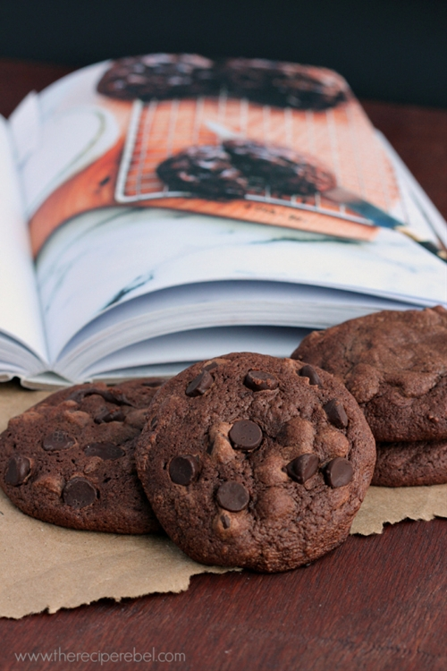 Heartbreak Chocolate Truffle Cookies