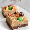 Peanut Butter Cookie Dough Brownie Bars