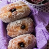 Blackberry Berliner Donuts