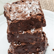 Triple Chewy Fudgy Brownies