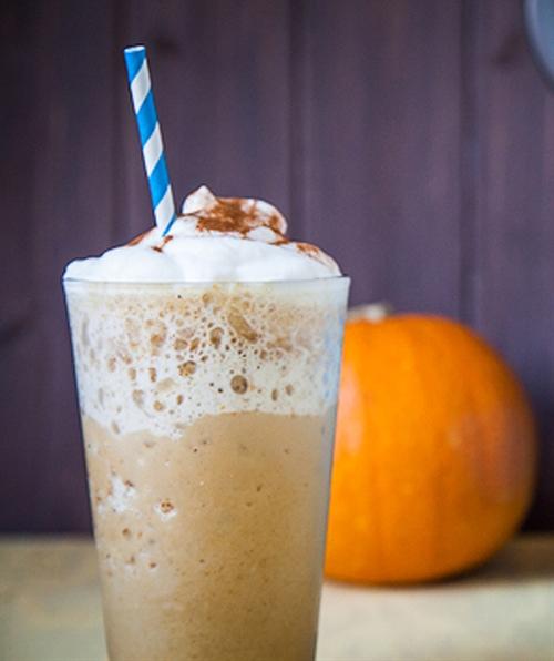 """White Mocha Pumpkin """"Frappuccino"""""""