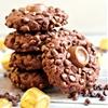 Rolo Stuffed Double Chocolate Cookies