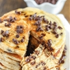 Chocolate Chip Greek Yogurt Pancakes