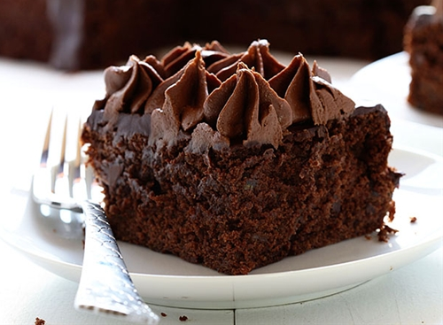 Zucchini Double Chocolate Cake