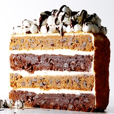 The Ultimate Smores Layer Cake Recipe