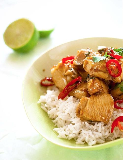 Garlic Thai Chicken