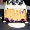 Blueberry Crème Fraîche Cake
