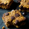 Skinny Chocolate Chip Pumpkin Bars