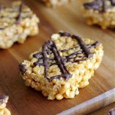 Healthy rice krispie treats