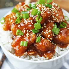 Sticky Sesame Chicken {30 minutes}