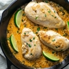 Creamy & Smoky Cilantro Lime Chicken