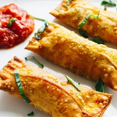 Homemade (copycat) Totinos Pizza rolls