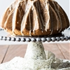 Eggnog Bundt Cake with Sugary Eggnog Glaze