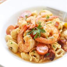 Shrimp & Sun-Dried Tomato Tortellini